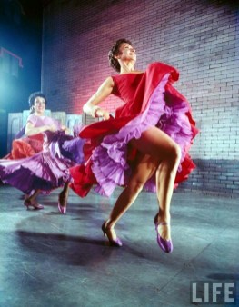 Chita Rivera in the 1957 production of West Side Story
