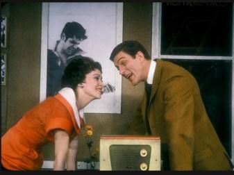 Chita with Dick Van Dyke in Bye Bye Birdie, 1960