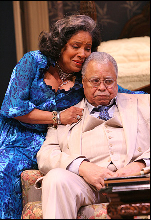Big Daddy in Cat on a Hot Tin Roof on Broadway, 2008