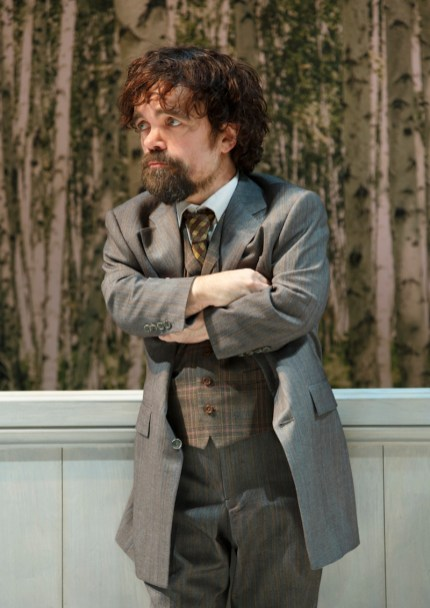 Month 8 Peter Dinklage. Photo by Joan Marcus