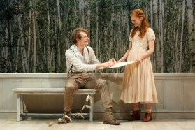 Month7 Mike Faist and Megan West. Photo by Joan Marcus