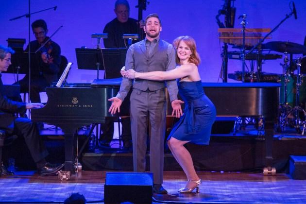 Jeremy Jordan and Kate Baldwin