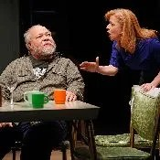Stephen McKinley Henderson and Elizabeth Canavan in Between Riverside and Crazy