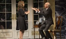Rosie Perez and Larry David in Fish in the Dark