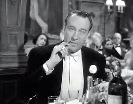 George Sanders as critic Addison Dewitt in All About Eve