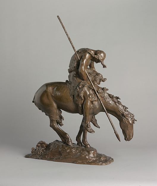 13. End of the Trail, by James Earle Fraser (1918)