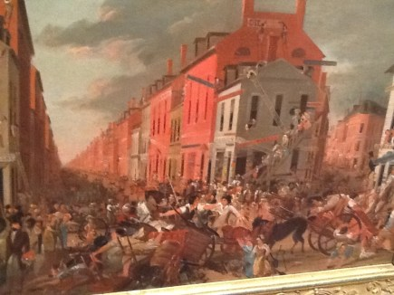 6. Moving Day (in Little Old New York) Unidentified artist (Ca. 1827)