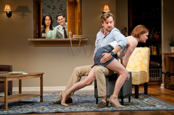"""In Permission, the couples engaged in """"Christian Domestic Discipline"""" -- spanking. 2015 production"""