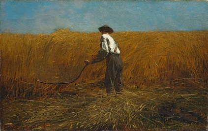 12. The Veteran in a New Field by Winslow Homer (1865)