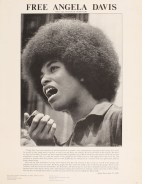 Unidentified artist Free Angela Davis, ca.1970-72 Lithograph on paper Collection of Merrill C. Berman