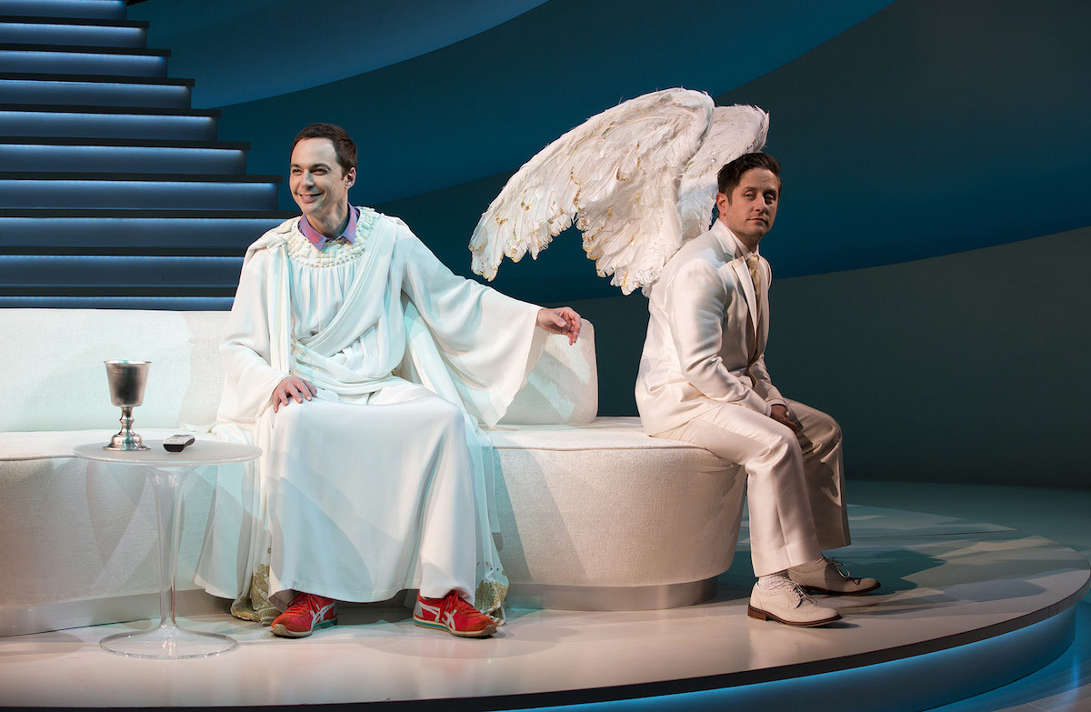 Jim Parsons and Christopher Fitzgerald