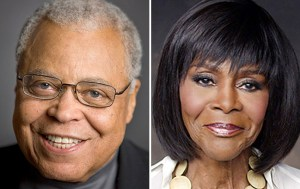 james-earl-jones-cicely-tyson in Gin Game