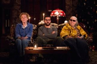 Georgia Engel as Mertis Katherine Graven, Christopher Abbott as Elias Schreiber-Hoffman & Lois Smith as Genevieve Marduk