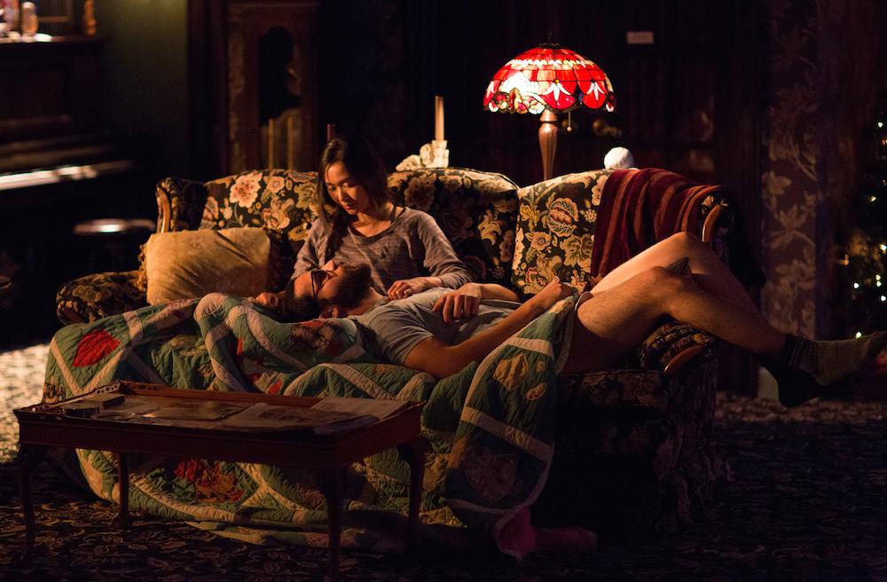 Christopher Abbott as Elias Schreiber-Hoffman & Hong Chau as Jenny Chung