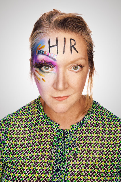 Kristine Nielsen in poster for Taylor Mac's Hir