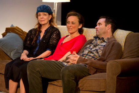 Judy1 Deirdre O'Connell, Birgit Huppuch and Danny Wolohan in Page 73's Production of JUDY.Jeremy Daniel Photography