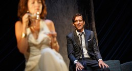 Eve Best and Clive Owen in Old Times