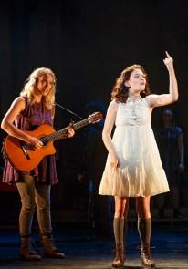 Katie Boeck as the voice of Wendla, and Sandra Mae Frank as Wendla
