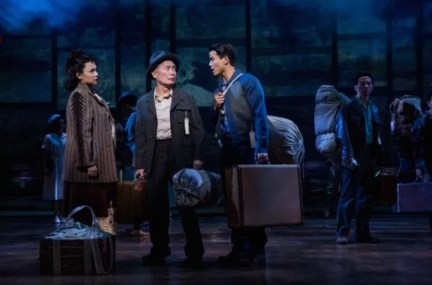 Lea Salonga, George Takei and Telly Leung in Allegiance