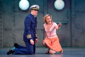 Dames at Sea 6 John Bolton and Mara Davi in DAMES AT SEA photo by Jeremy Daniel (2)