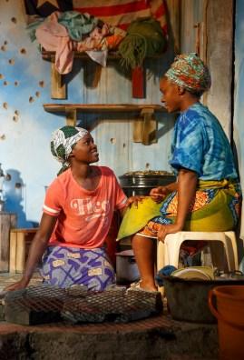 Lupita Nyong'o and Saycon Sengbloh
