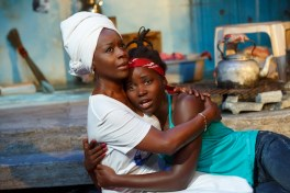 Akosua Busia and Lupita Nyong'o in Eclipsed