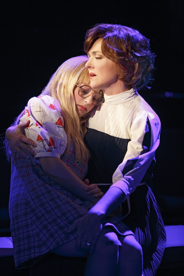 """Carly Tamer as Amy Carter and Rachel Bay Jones as Rosalynn Carter in """"Amy Carter's Fabulous Dream Adventure"""" in First Daughter Suite"""