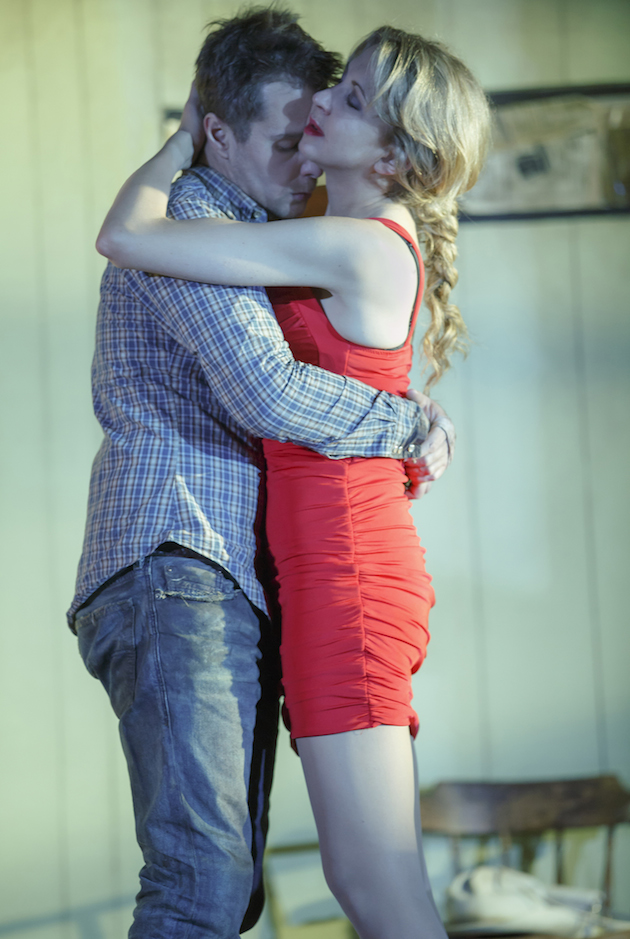 Sam Rockwell and Nina Arianda