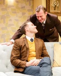Christopher J. Hanke and Robert Eli as lovers