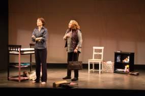 Sofia Jean Gomez and Kathleen Turner