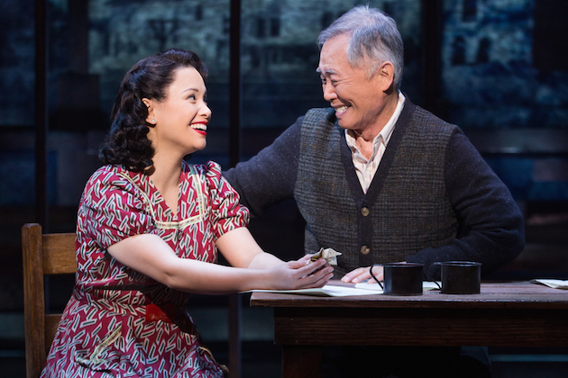 Lea Salonga and George Takei