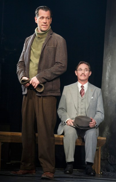 Darren Pettie and Richard Thomas in Arthur Miller's Incident at Vichy