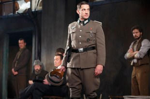 James Carpinello as the Major in Incident at Vichy