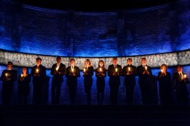 The cast of King Charles III