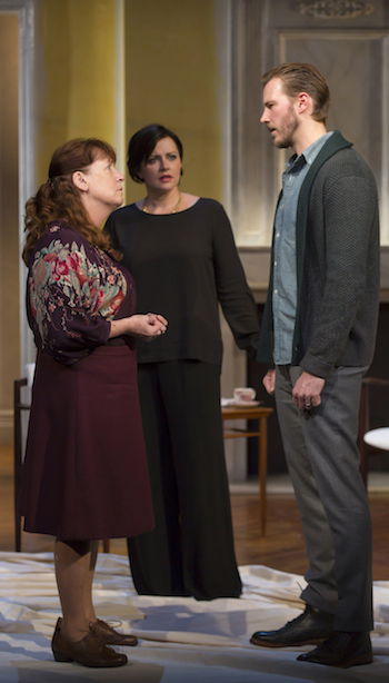 Ann Dowd, Dagmara Dominczyk and Ben Heck in Night Is A Room