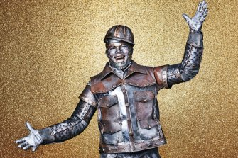 Ne-Yo as Tinman -- (Photo by: Paul Gilmore/NBC)