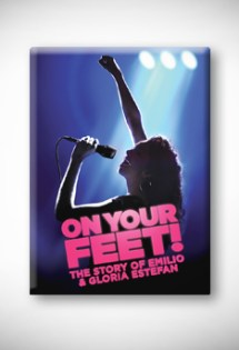 On Your Feet magnet