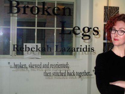 """Broken Legs,' exhibition on theater superstitions."