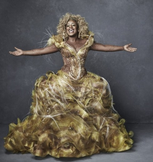 Uzo Aduba as Glinda, Good Witch of the South