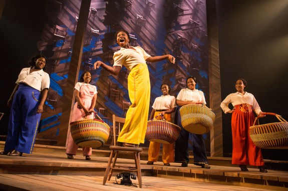 Color Purple 2 Brooks, Covington, Erivo, Jackson, Compere, Webb. photo by Matthew Murphy, 2015