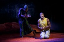 Latrista Harper and Michael Luwoye in Invisible Thread