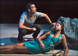 Bobby Moreno and Amelia Jean Alvarez in South Beach Rapture