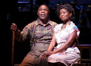 Michael Potts ('Little Joe' Jackson) and LaChanze (Petunia Jackson) Cabin in the Sky