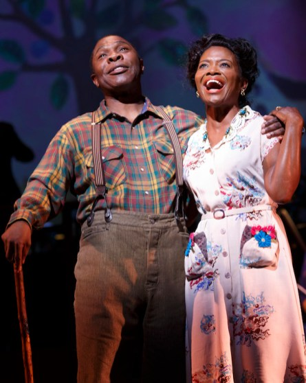 Michael Potts ('Little Joe' Jackson) and LaChanze (Petunia Jackson) Cabin in the Sky