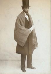 """Benjamin Chapin in """"Lincoln,"""" 1906."""