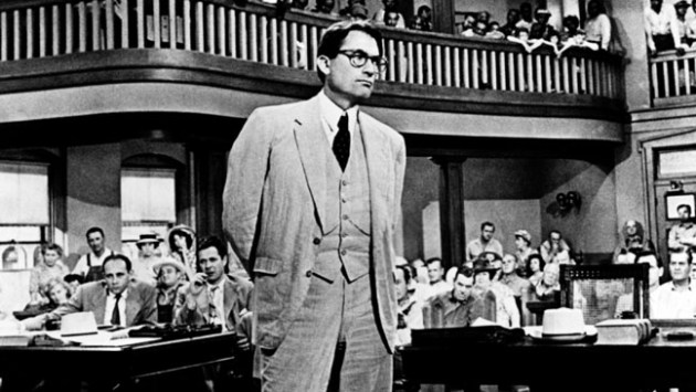 TO KILL A MOCKINGBIRD 1962 GREGORY PECK TKM 020P, Photo by: Everett Collection (3974)