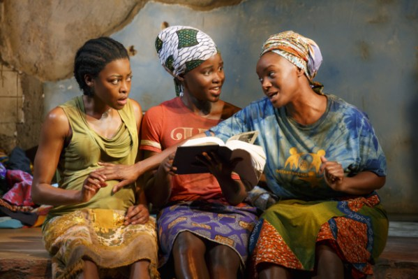 Pascale Armand, Lupita Nyong'o, and Saycon Sengbloh star in Danai Gurira's Eclipsed.