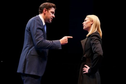 John Krasinski and Claire Danes as rivals in Dry Powder