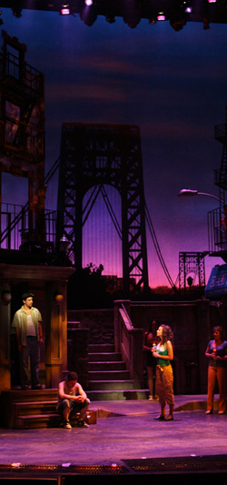 In the Heights on Broadway at the Richard Rodgers Theater