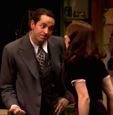 Zachary Levi and Laura Benanti